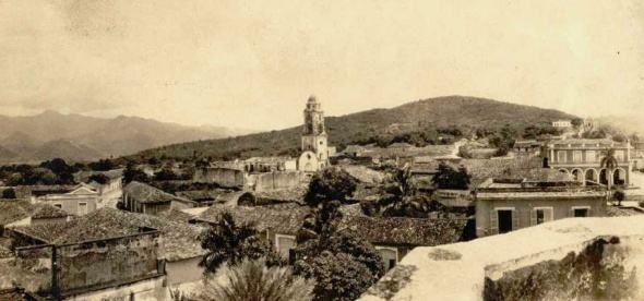 Trinidad Rooftops 1920's